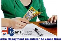 Loans Direct Extra Repayment Calculator / Use Loans Direct Extra Repayment Calculator to find out the repayment amount that will help you to pay off the loan sooner. Visit http://www.loansdirect.com.au/calculators-and-tools/extra-repayment-calculator/ for further details