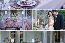 dekoracje stołów i kolor