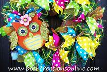 Wreath Color Combos & Ideas