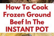 Instant Pot Ideas and recipes