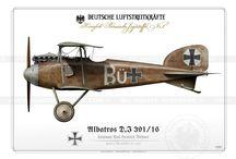 Velká válka - letadla
