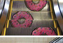 Funny Escalator Ads
