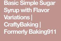 sugar syrups