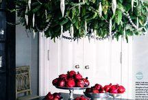 Christmas chandelier