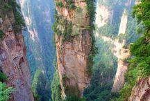 Nádherná místa a přírodní útvary