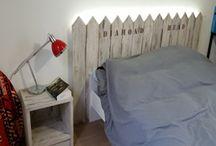 Agencement de chambres / Fabrication entièrement sur mesure de mobiliers de chambre.