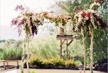 Ceremony Arches / Check out these boho, whimsical, vintage arches sure to make your day like a fairytale!  The Golden Oak Farm has several outdoor ceremony sites that would work amazing with these ideas, check us out at www.thegoldenoakfarm.com