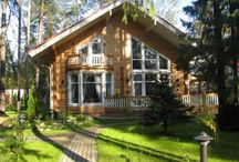 Terrace / The different types of terrace solutions for lIKIHIRSI® log houses