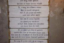 Gedicht mams