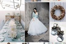 Weddings in blue / Inspiración bodas color azul