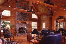 Wood Houses / Creative wood houses and log home designs / by Jonha Revesencio