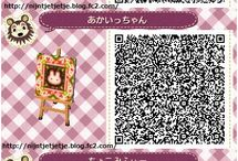 Animal Crossing / QR-Codes für Animal Crossing New Leaf