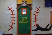 Baseball school theme