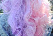 Rainbow hair styles