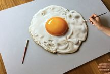 Marcello Barenghi Paintings / Minimalistic and Hyperrealistic Still Life