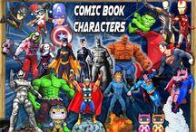 Comic Book Figures