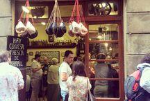Eten & drinken in Barcelona / Hier vind je foto's voor de echte ''Foodies''. Hele leuke en gezellige plekjes die ook nog eens betaalbaar zijn!
