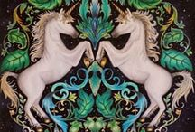 Floresta Encantada - Unicórnios / Enchanted Forest - Unicorns