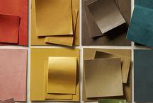 Color Palette / Interior color inspiration