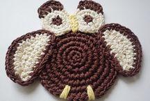 Monikadesign - Patterns, Supplies, Appliques / My own crochet patterns