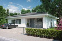 Projekty rodinných domov - House plans / Projekty rodinných domov z našeho katalógu. Ready-made house plans from our portfolio.