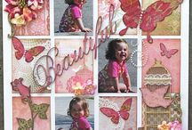 Scrapbooking Page Layouts- Baby Girl/ Girl / Scrapbooking pages that I like and would love to recreate in my own scrapbooks in the future! / by Kelley Wullaert