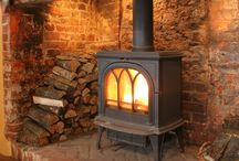 Wood burning stoves and fireplaces