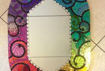 idées de motifs mosaïque pour élèves