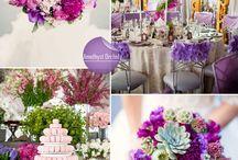 Pantone Fall 2015 wedding flowers