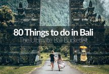 Bali Trip 2018 / Inspiration for my trip to Bali in October 2018.