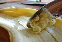 Bananenschale verwenden