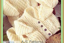 Knitting Patterns / Baby jacket