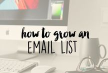 Growing Your Email List / Having an email list is important to growing your business. Here you will find helpful guides on how to do this.