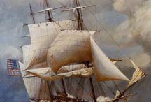 schepen  vroeger / over schepen van vroeger
