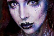 Galaxy makeup Inspo