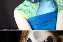 Halloween ideas & makeup