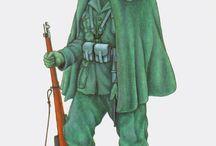 Servizio Militare / Distintivo del Battaglione Alpini Mondovì.