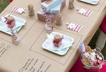 Детский стол еда
