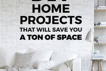 Clutter clearing and DIY