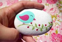 Rock Painting and Pebble Art