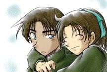 Heiji x kazuha <3 / Anine: Detective conan
