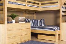 P&S loft beds designs