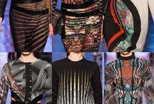 Print & Pattern Highlights / Milan Fashion Week – Autumn/Winter 2013/14  photos via vouge.co.uk