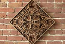Laser woodcarving