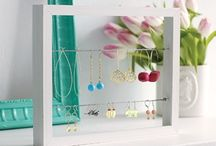 Jewelry Organizers / Everyone's gotta have a place to put their stuff!