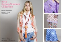 2012 Spring/Summer Fashion / Love the clothing designed by Jules Reid! Lots of bold patterns and vivid colors! / by Pamela Dyer