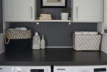 laundry room wall match TV wall??