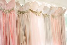 pastels / Romantic wedding team ideas