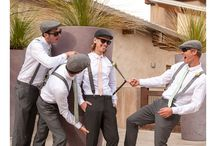 Images of Groom & Groomsmen - Outdoor Weddings