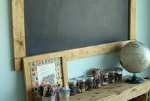 Study Area for Kiddos / by Heidi Ann Barnes